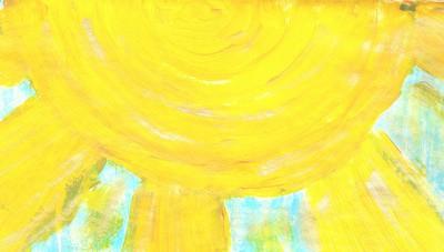 Sonne-Ute bearbeitet